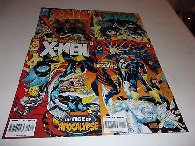 Amazing X Men # 1-4--Age of Apocalypse--Fabian Nicieza,Andy Kubert--1995--VF