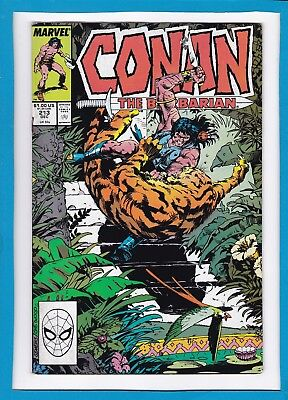 Conan The Barbarian #213_December 1988_Very Good+_Marvel Sword And Sorcery!