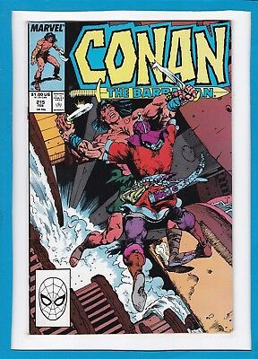 Conan The Barbarian #215_February 1989_Fine Minus_Marvel Sword And Sorcery!