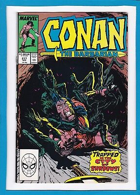 Conan The Barbarian #217_April 1988_Fine Minus_Marvel Sword And Sorcery!