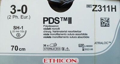 PDS Ethicon Nahtmaterial Polydioxanone OP Chirurgie suture sutura surgery Nadel