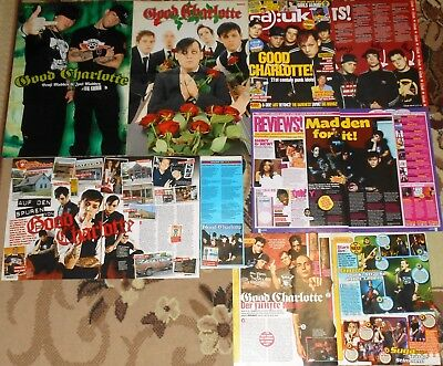 Good Charlotte Joel & Benji Madden - Magazine Posters & Clippings Collection # 2