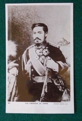 Antique Royal Postcard of the Emperor of Japan Japanese