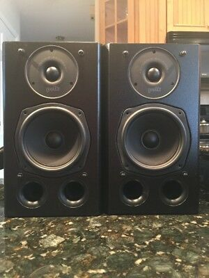 Polk Audio Dynamic Balance Bookshelf Speakers Black
