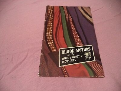 Brook Motors  Vintage Booklet     Very Scarce