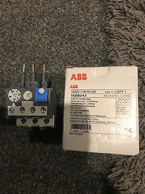 ABB TA25DU-6.5 Thermal Overload Relay 6.5A 690V 3 Poles