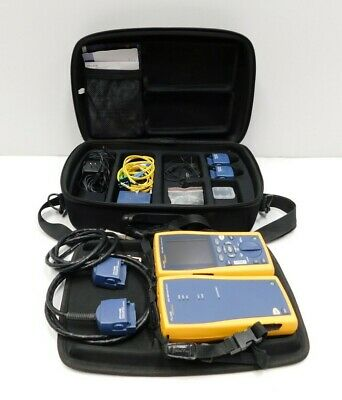 Fluke DTX-1800 Cable Analyzer w/ Smart Remote, Case, & Adapters (E10-823)