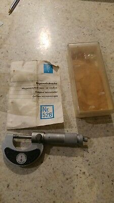 0-25mm Micrometer Quality German Made Model Engineer Workshop Clearance