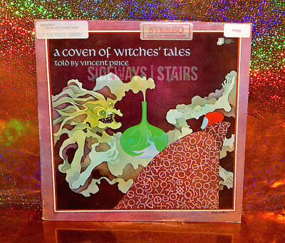 COVEN OF WITCHES' TALES VINYL LP Vincent Price rare record halloween Leo Dillon