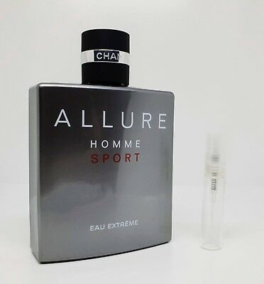 CHANEL - Allure Homme Sport Eau Extreme - 5ml SAMPLE Glass Atomizer