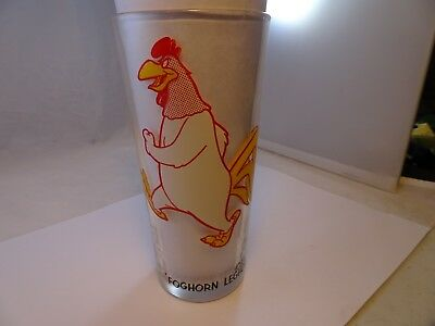 1973 Warner Bros. Looney Tunes Foghorn Leghorn Pepsi Collector Series Glass
