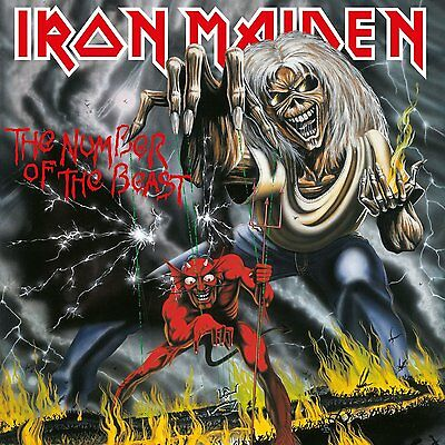 Iron Maiden **The Number of the Beast **Brand New 180 Gram Record LP Vinyl