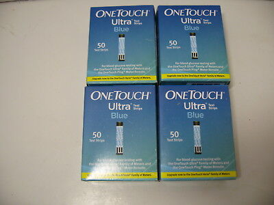 FRESH SEALED OneTouch Ultra Blue Diabetic Test Strips One Touch Blood Glucose US
