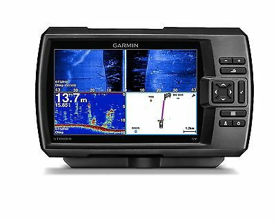 "Garmin STRIKER 7sv Fishfinder 7"" LCD, GPS, Side/ClearVu CHIRP Sonar 010-01554-00"
