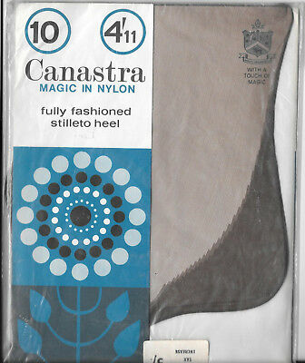 Vintage Canastra nylons stockings size 10 1/2
