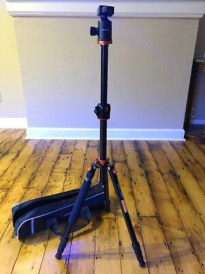 "K&F Concept Professional Tripod Monopod Ball Head 67"" TM2534T for DSLR Camera"