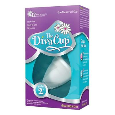 The Divacup Model 2 Menstrual Cup Reliable Protection Reusable Silicone Diva Cup