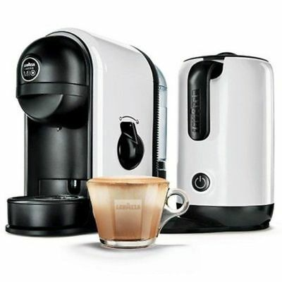 NEW LAVAZZA A Modo Mio Minù Caffe Latte Capsule Coffee Machine WITH Milk Frother