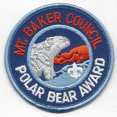 Mt. Baker Council Polar Bear Award patch