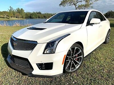 2016 Cadillac ATS -V TWIN TURBO CRYSTAL WHITE FROST EDITION $78KMSRP 2016 2017 2018 MERCEDES, BMW, CADILLAC V, MASERATI, PORSCHE, FORD SPORT GT TURBO