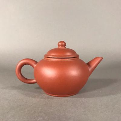 Small Antique Chinese Yixing Pottery Teapot with Four Character Mark