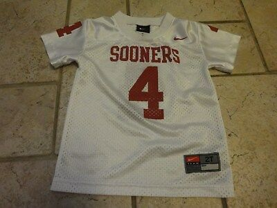 Nike Oklahoma Sooners #4 College Football Jersey Toddler 2T nice