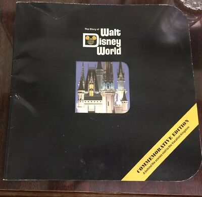 The Story Of Walt Disney World Commerative Edition 1971 Book / Lg Booklet