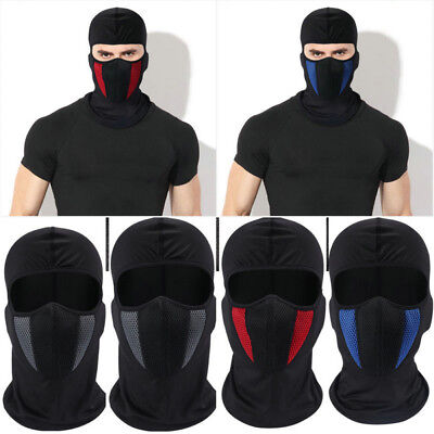 Windproof Ski Motorcycle Cycling Balaclava Full Face Mask Neck Scarf Hat Outdoor