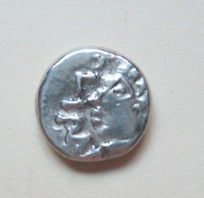 CELTIC AR UNIT, 1ST CENTURY BC,  1.87gm 12mm,  XF,  ICINI    *BRIGHT SURFACES*