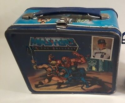 1983 Vintage MASTERS OF THE UNIVERSE He-Man Metal Lunchbox - Lunch Box