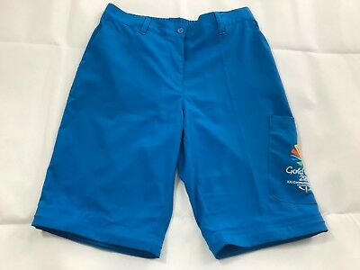 Womens Gold Coast 2018 Commonwealth Games Official Shorts Blue Collector Long S