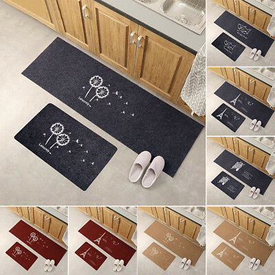 ITS- Modern Non Slip Door Floor Rug Mat Kitchen Bathroom Carpet Home Decor Fashi