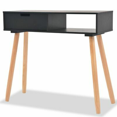 vidaXL Solid Pinewood Console Table Side End Desk Sideboard Stand Furniture