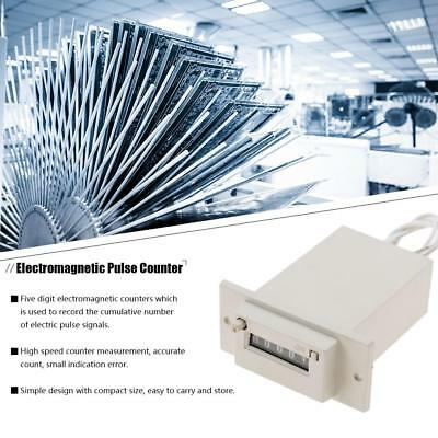 AC220V / AC110V / DC24V  CSK5-YKW 5 Digit Pulse Counter Electromagnetic Counter