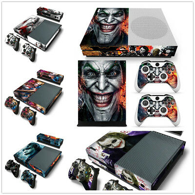 Faceplates, Decals & Stickers Romantic Batman And Joker Xbox One S 3 Sticker Console Decal Xbox One Controller Vinyl Buy One Get One Free