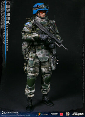 DAMTOYS 1/6 Chinese Peacekeeper 78062 PLA UN Peacekeeping Operations Figure SHP