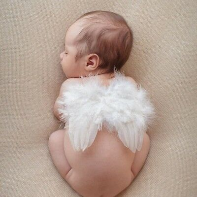 Baby Angel Wings Leaf  Photo Photography Props Decor Girls boys for Newborn #NT6