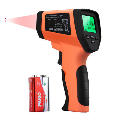 Digital LCD Floureon GM550 IR Infrared Thermometer Gun -50-550 ℃ BBQ Kitchen New