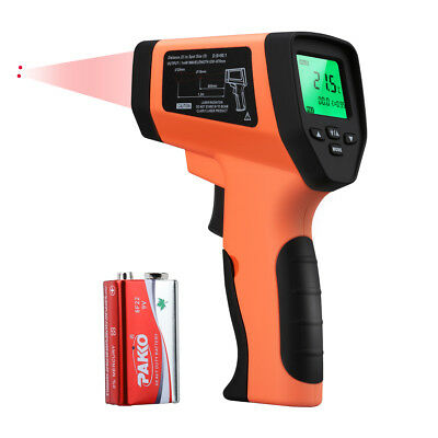 WELQUIC Infrared Thermometer Gun Non-Contact -50°C to 750°C LCD BBQ Kitchen New