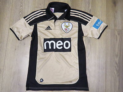 Benfica 2011-12 away shirt Adidas soccer jersey size 13/14Y 164 Boys L