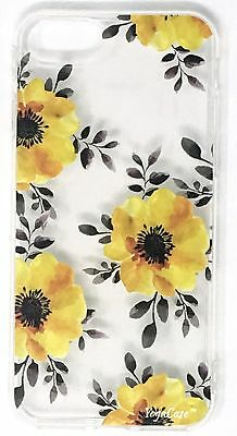 YogaCase InTrends Phone Case, Compatible with iPhone SE (Yellow Flowers)