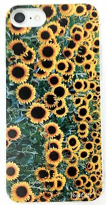 YogaCase InTrends Phone Case, Compatible with iPhone 8 (Sunflower Field)