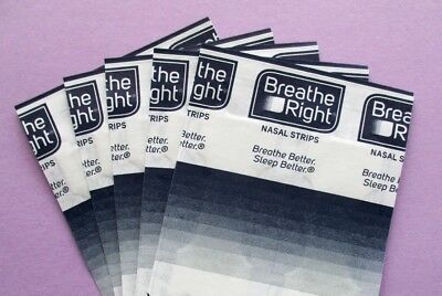 120 Breathe Right EXTRA in 5 languages I nasal strips Respira Bene Activ Respir'