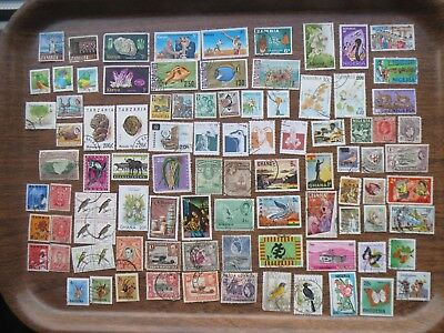 90 AFRICA  STAMPS (Countries mixture)  lot A