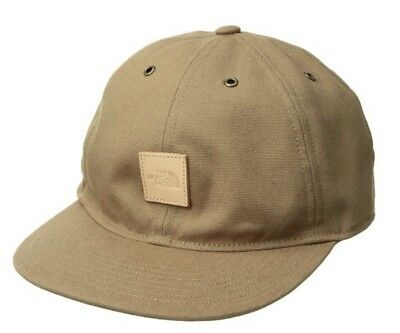 629c869512b THE NORTH FACE Naturalist Hat Canvas Khaki Adjustable Strapback Cap 6 Panel  -  24.99