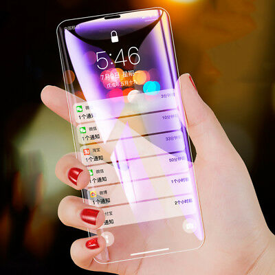 3D Curved 9H Best Tempered Glass Screen Protector Film Guard For iPhone Xs Max