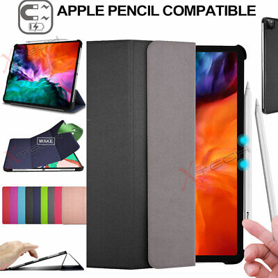 "For Apple iPad Pro 12.9"" 2020 4th Generation PU Leather Stand SMART CASE Cover"