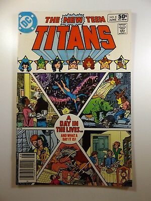 The New Teen Titans #8 Perez Art! Beautiful NM- Condition!!