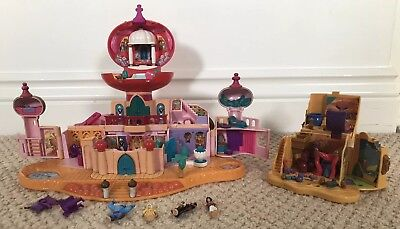 Polly Pocket Aladdin Palace Playset & House With Figures