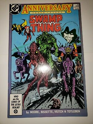 Swamp Thing 50 NM/VF 1st Justice League Dark (DC 1986) Anniversary Issue